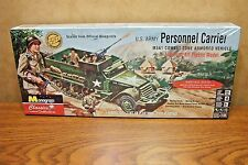 MONOGRAM U.S. ARMY PERSONNEL CARRIER HALF TRACK 1/35 SCALE MODEL KIT