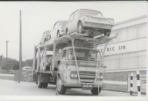2 Photos,Commer Car Transporter, Rootes Service, Southend on Sea