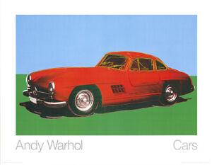 Andy Warhol - Mercedes-Benz 300SL Coupè - Kunstdruck nach dem Original von 1954