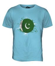 Pakistan Fútbol Parte Superior el Hombre Camiseta Tee Giftworld Copa Deporte
