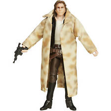 "Han Solo Star Wars Black Series 3.75"" Wal-Mart RotJ Endor Trench Coat complete"