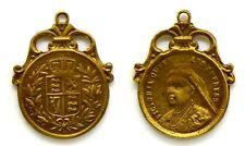 Medaglia Regina Vittoria Del Regno Unito - Victoria Queen And Empress Bronzo