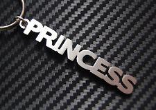 PRINCESS Personalised Name Keyring Keychain Key Bespoke Stainless Steel Gift