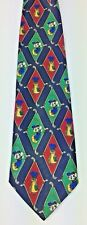 Disney Mickey Unlimited Mens Tie Golf Made In Italy