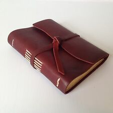 New RUSTICO Good Book Leather Journals Diary Notebook Christmas GiftsBurg.FlapTi