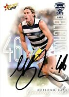 ✺Signed✺ 2019 GEELONG CATS AFL Card MARK BLICAVS