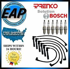 For Audi A4 A6 VW Passat 2.8L V6 Prenco Ignition Wire Set w/ Spark Plug NEW