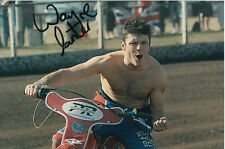 WAYNE CARTER HAND SIGNED SCUNTHORPE SCORPIONS SPEEDWAY 6X4 PHOTO 8.
