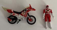 Mighty Morphin Power Rangers Red Ranger Thunder Bike and Figure