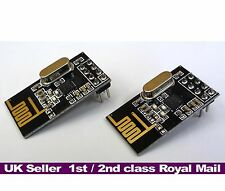 NRF24L01+ Wireless Transceiver Modules 2.4Ghz RF  Arduino  PI  ARM  PACK of 2