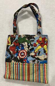 Marvel Avengers Comic Handmade Sketch Book Bag