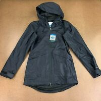 Columbia Omni-Tech Women's Size XS Black Arcadia Casual Waterproof Jacket NWT