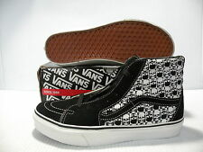 VANS SK8 HI SKULLS SNEAKERS MEN SHOES BLACK/WHITE 5895399 SIZE 9 NEW