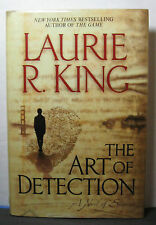 THE ART OF DETECTION by Laurie R. King, signed 1st/1st hardback