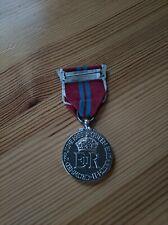Silver Queen Elizabeth Coronation Medal - IN ORIGINAL BOX
