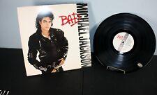 MICHAEL JACKSON - BAD - VINYL RECORD ALBUM