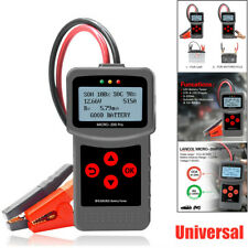 12V 24V Car Battery Tester Digital Gel Automotive Load Battery System Analyzer