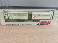(Box K11) AMW / AWM LKW H0 1:87 MAN Hängerzug W. Thielen OVP