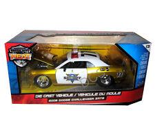 JADA HEAT 2008 DODGE CHALLENGER SRT8 SHERIFF GOLD 1/24 DIECAST CAR  96460