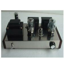 Class A Single Ended 6N1+6P3P Tube Audio Amplifier 8W*2 HIFI Valve Amp DIY Kit