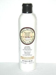 Perlier Shea Butter Ultra Rich Moisturizing Shower Cream w/ Vanilla 8.4 oz