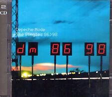 DOUBLE CD 21T DEPECHE MODE THE SINGLES 86 98 BEST OF 1998