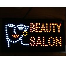 10*19 Animated Motion Led Beauty Salon Sign OnOff Switch Bright Open Light Neon