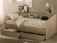 Day bed Single Size with 2 x drawers with head shelving NEW DESIGN Kids