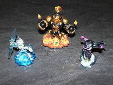 PS3/WII/XBOX360 SKYLANDERS SWAP FORCE LOT 3 FIGURINES ACTIVISION OCCASION