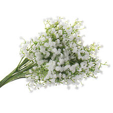 UK_ Value Fake Bouquet Baby's Breath Gypsophila Silk Flower Party Wedding Home D