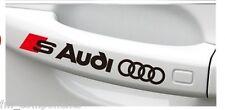 4x adhesivo Audi Sline(A1,A2,A3,A4,A5,A6,A7,A8,Q3,Q5,Q7,TT,B8) stickers pegatina