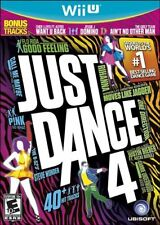JUST DANCE 4 -NINTENDO WII U Video Game - Brand New & Sealed- Fast Ship!