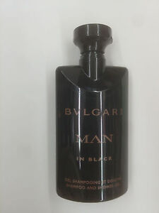 BVLGARI MAN IN BLACK MEN SHAMPOO AND SHOWER GEL 2.5 OZ / 75 ML NEW AS PICTURED