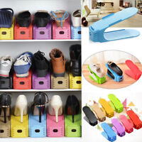 Adjustable Creative Plastic Shoes Rack Organizer Space-Saving Storage Durable