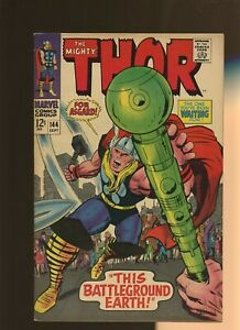 Thor 144 FN/VF 7.0 * 1 Book Lot * Enchanters! Stan Lee & Jack Kirby!