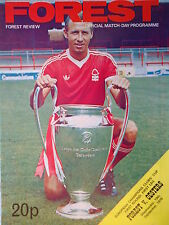 Programm EC 1979/80 Nottingham Forest - Oesters IF