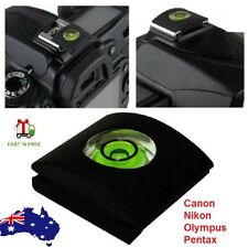 Hot Shoe Protector Cap Camera Cover Flash Bubble Spirit Level For SLR DSLR