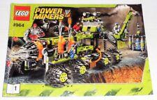 Lego Power Miners Titanium Command Rig 8964 inkl. OBA (ohne Box)