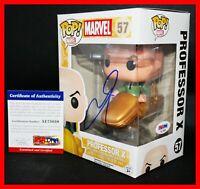 !! Autographed James McAvoy signed Marvel Professor X X-men Funko POP PSA JSA !!