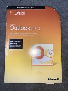 Microsoft Office Outlook 2010 w/ Product Key Used FREE SHIPPING!