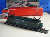 TRAIN ECHELLE HO JOUEF LOCOMOTIVE TYPE 2D2 OUEST DE LA SNCF AU 1/87 ème EN BOITE
