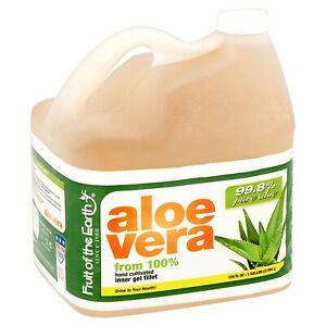 Fruit of the Earth Original Aloe Vera Drink, 128 Fl Oz