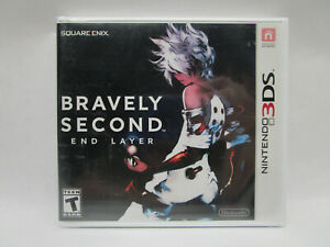 Bravely Second: End Layer (Nintendo 3DS, 2016) Brand New Sealed