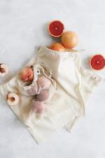 Ever Eco Reusable Organic Cotton Mixed Set Produce Bags 4 Pack