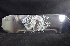 DGK Skateboard Deck Get Money Silver Foil 8.38 Free Grip Tape Skate