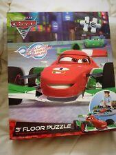 New Disney Cars 3 Foot Shaped Floor Jigsaw Puzzle