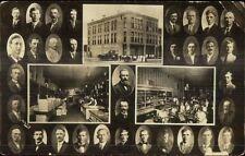 Fergus Falls MN Northern Woolen Co & Employees c1910 Real Photo Postcard