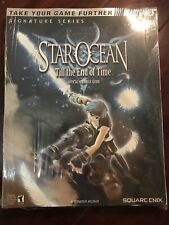Star Ocean 3 TEOT Game RPG Collectible Strategy Guide Square Enix Book Brady X