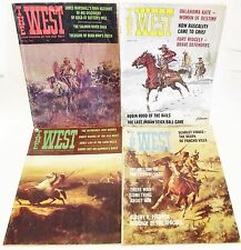 """3 Each """"THE WEST"""" MAGAZINE '1966 '1967 '1968 Old West Stories 3 Each"""