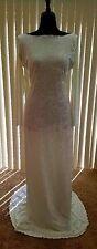 Hollywood Glam Crushed Velvet Backless Sheath Mermaid Dress Bridal Wedding Gown